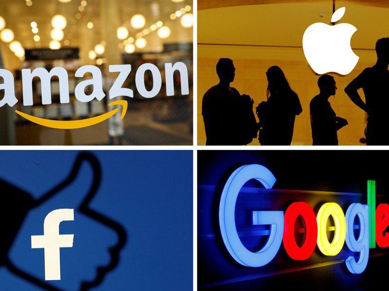 隨著全球反壟斷聲浪四起,美國四大科技巨頭明年恐不好過。路透