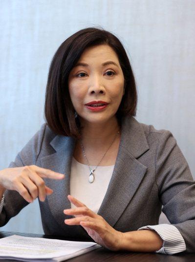 中信銀行個人金融副執行長楊淑惠表示,民眾在退休準備上有四大迷思。記者曾吉松/攝影