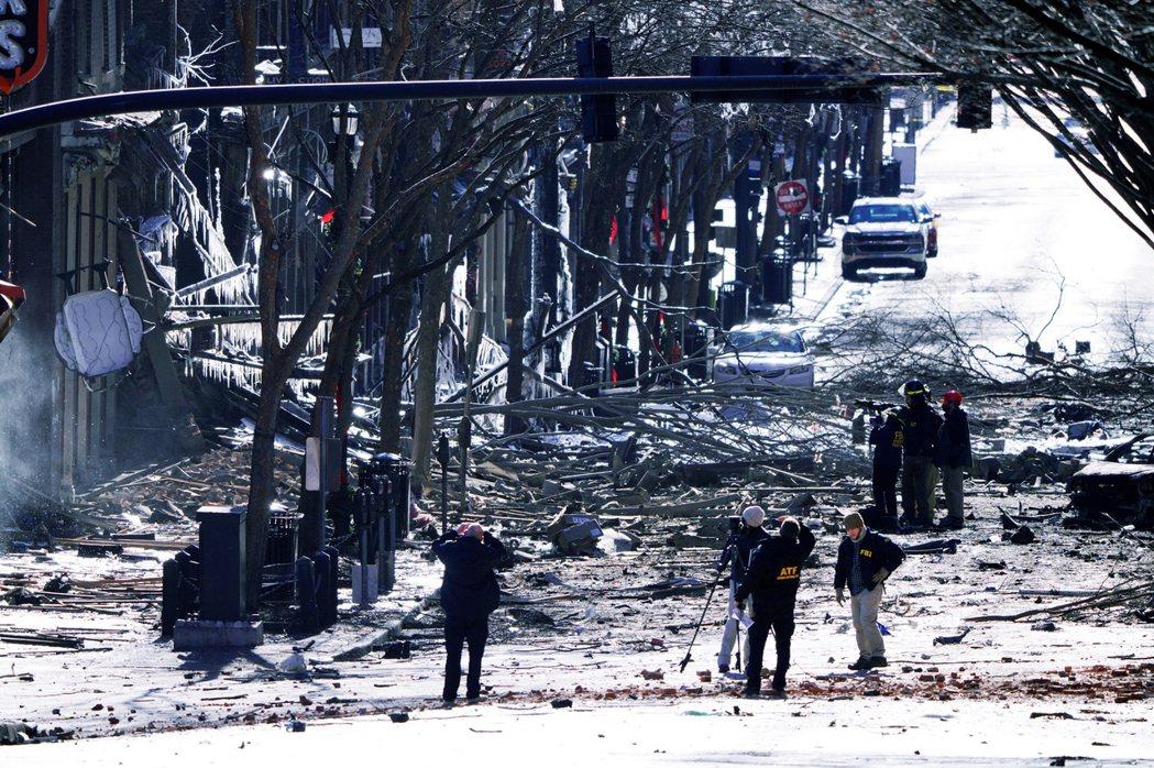 25日耶誕節清晨發生的田納西「RV露營車爆炸案」,27日晚間已確定兇手身份是63...