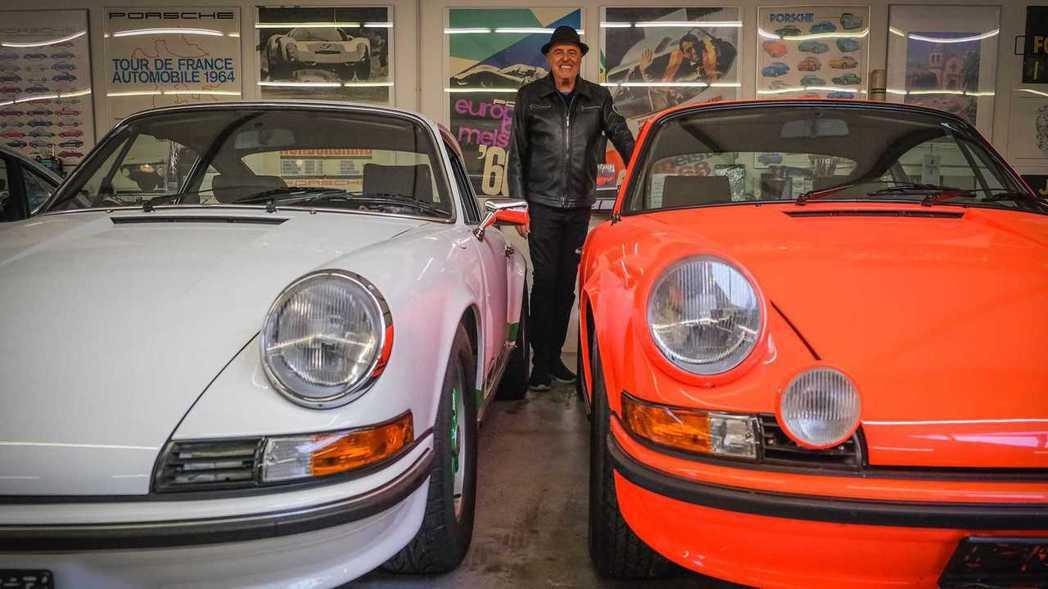 Ottocar J絕對可以稱之為Porsche狂人。 圖/Porsche提供