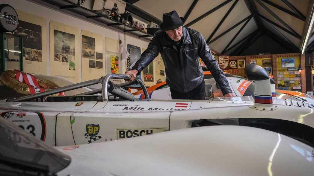 Ottocar J他在80歲這年買了人生第80輛Porsche。 圖/Porsc...