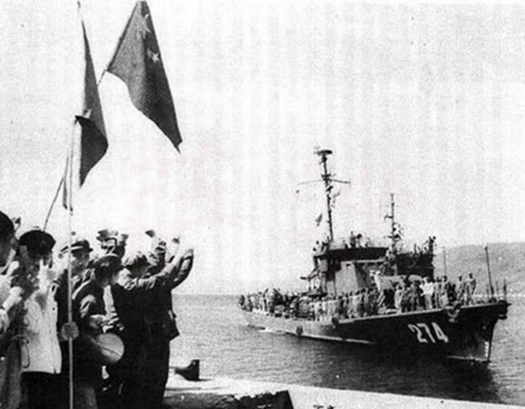 1974年中國解放軍與南越海軍爆發「西沙海戰」。 圖/維基共享