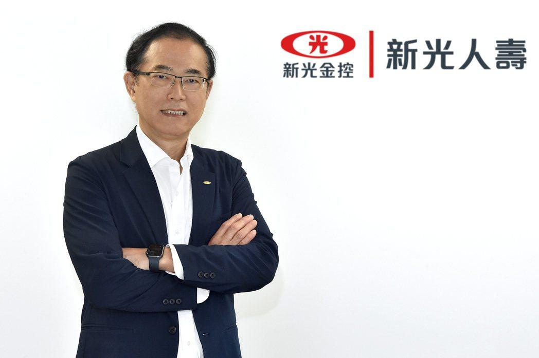 新光人壽副總經理暨資訊長林國彬。 IBM /提供