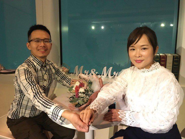 台北101發現,今年12月推出免費加價上101樓國人優惠,吸引不少民眾在高空求婚...