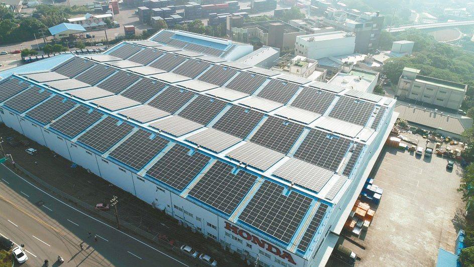 NEFIN福展綠能近期完成的倉儲廠房1.8MW。NEFIN福展綠能/提供