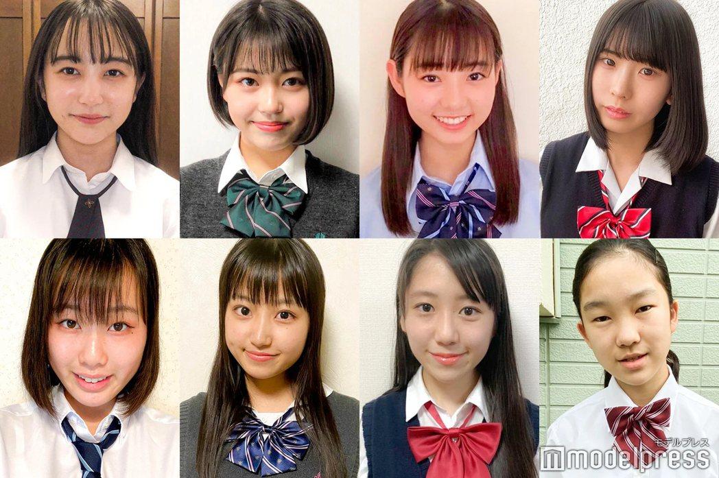 日本「最可愛女高一生」網路排行曝光。圖/擷自mdpr.jp。