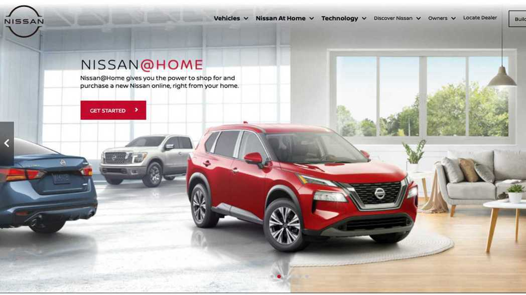美國Nissan@Home線上購車成效佳。 圖/Nissan提供