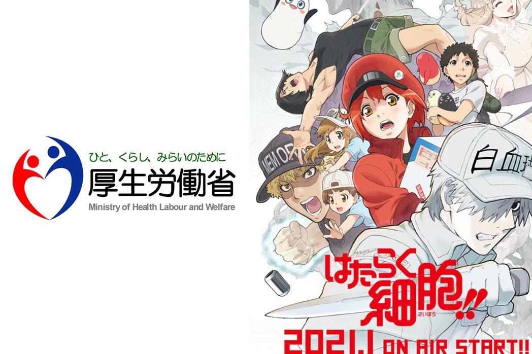 日本厚生勞動省|《工作細胞》第二季宣傳圖
