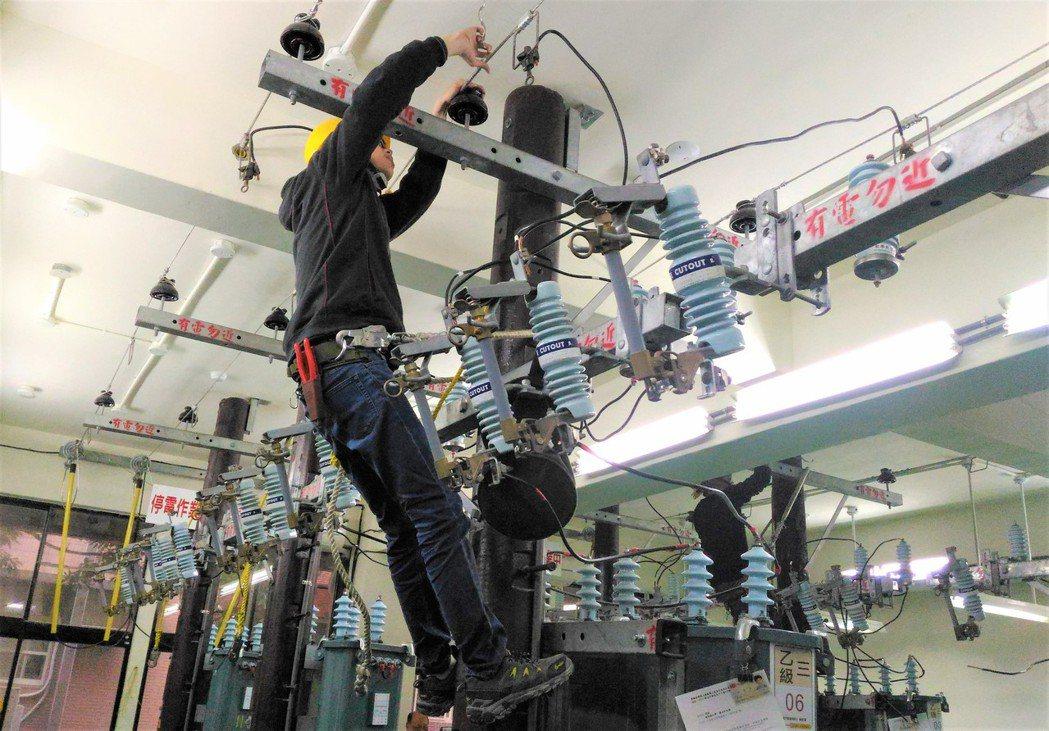 花蓮職業訓練場水電班訓練實況。 北分署/提供。