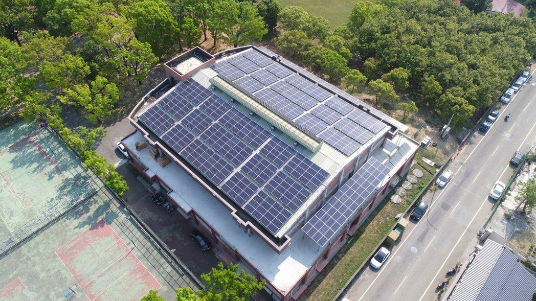 睿禾控股太陽能電廠。