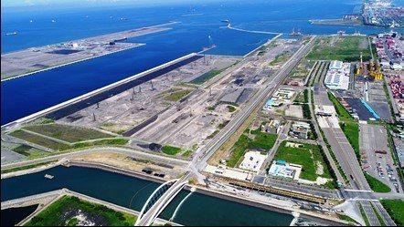 高雄港第七貨櫃中心今動工。圖/台灣港務公司提供