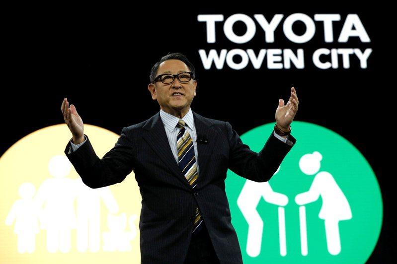 豐田汽車社長豐田章男(圖)反對日本加速推動純電動車。路透