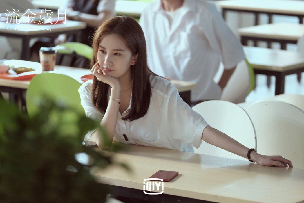 劉詩詩在「流金歲月」中飾演超有個性的富家千金。圖/愛奇藝國際站提供