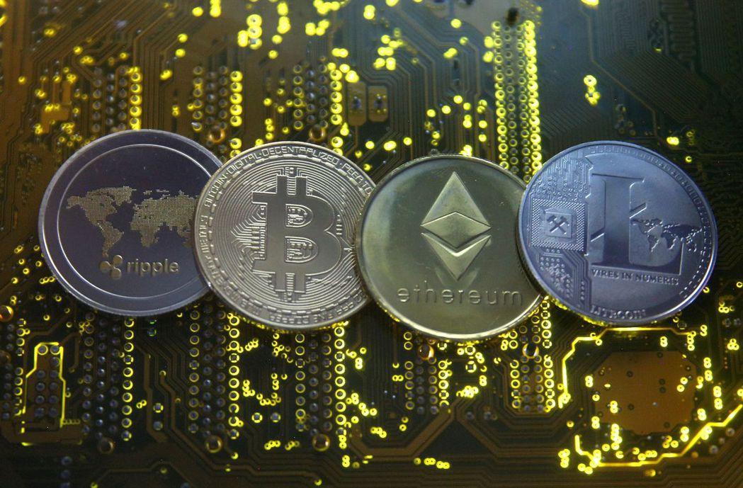 就市值而言,瑞波幣為全球第三大加密幣。路透