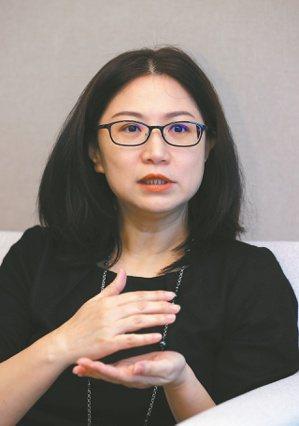 台灣人壽副總經理楊欣枬。記者曾吉松/攝影