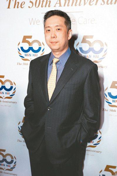 萬海董事長陳柏廷(本報系資料庫)