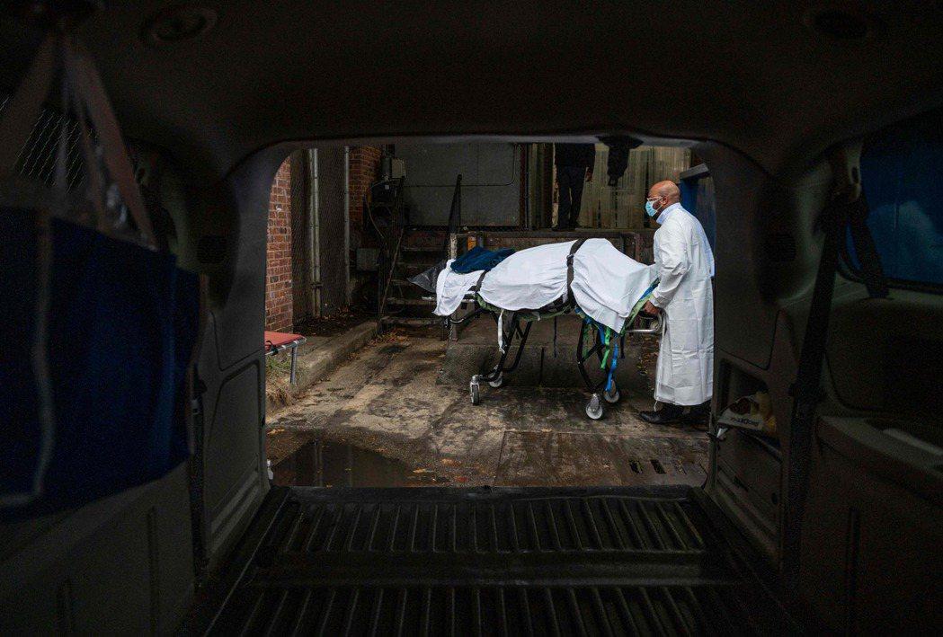 圖為美國的火葬場。 圖/法新社