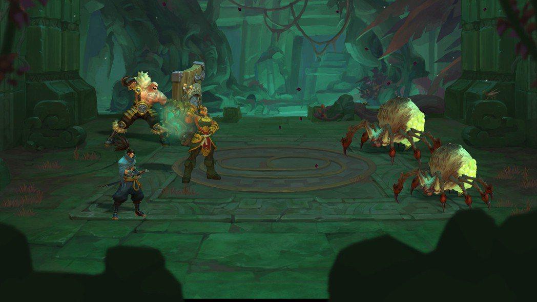 《聯盟外傳:殞落王者》為回合制RPG