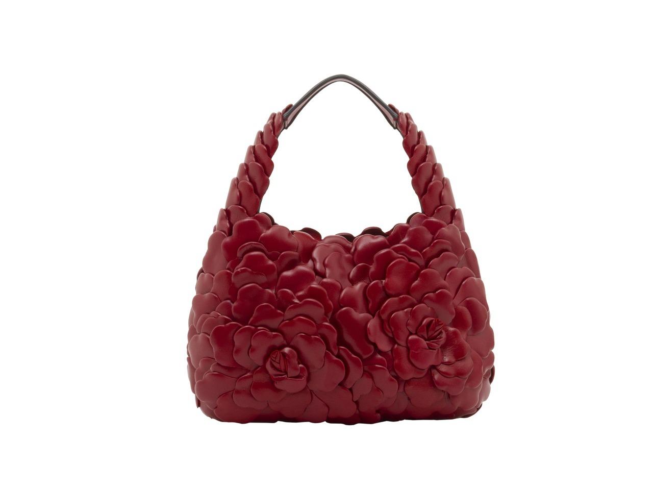 小羊皮Rose Edition Atelier肩背包,10萬8,000元。 圖/...