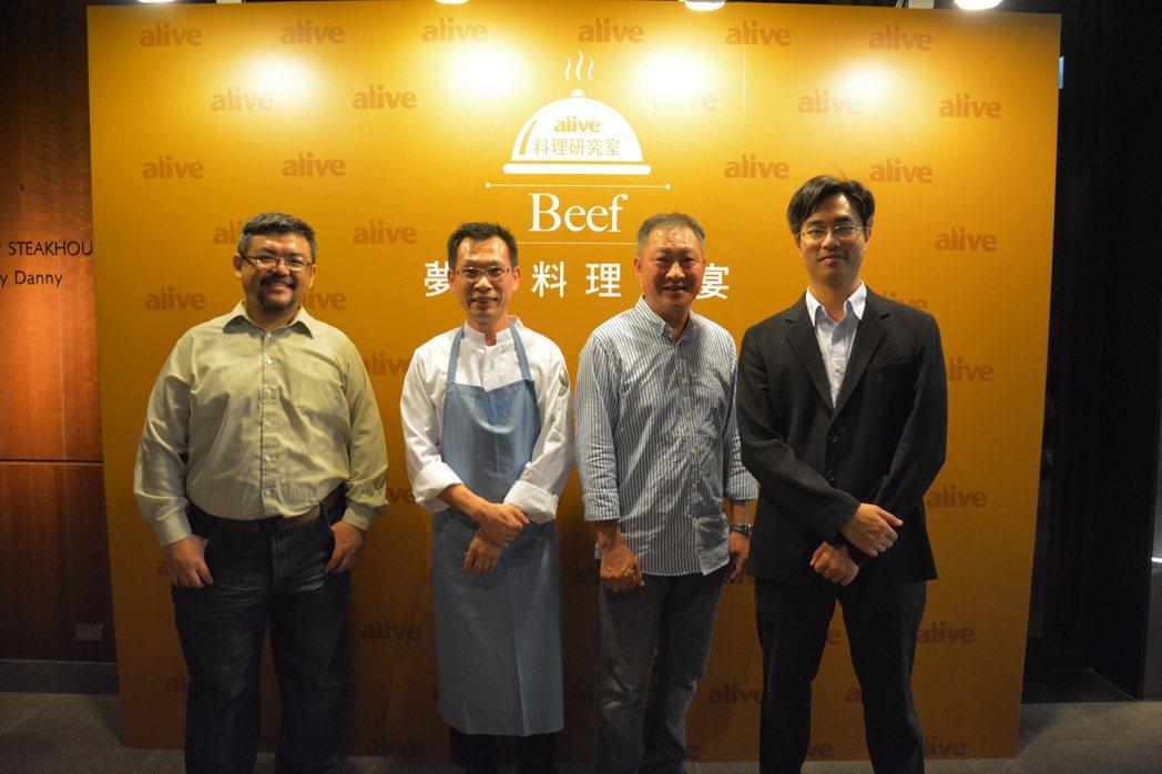 為推廣台灣食材,徐仲(右)自掏腰包辦過許多品嘗會與講座。圖/徐仲提供