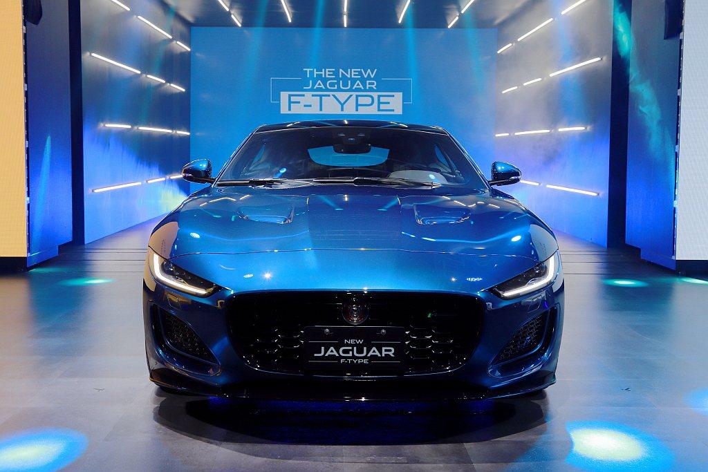 小改款Jaguar F-Type正式在台發表上市並導入P300 R-Dynami...