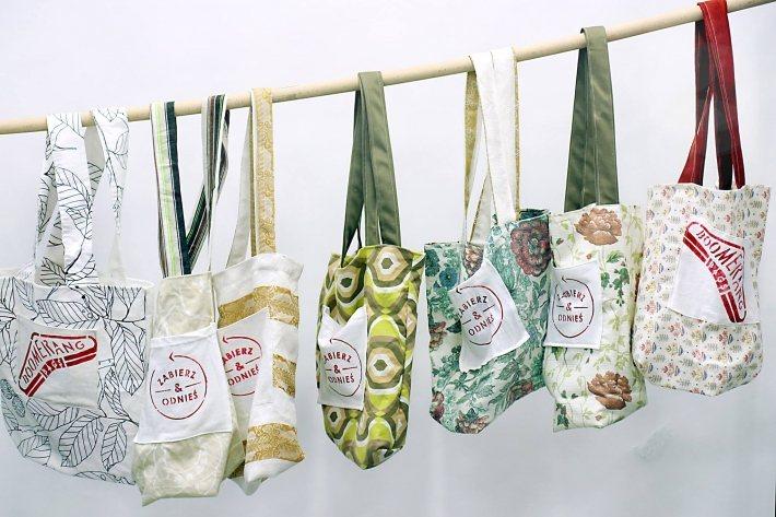 澳洲通路商與民間組織 Boomerang Bags 發起「出借購物袋」行動。圖片...