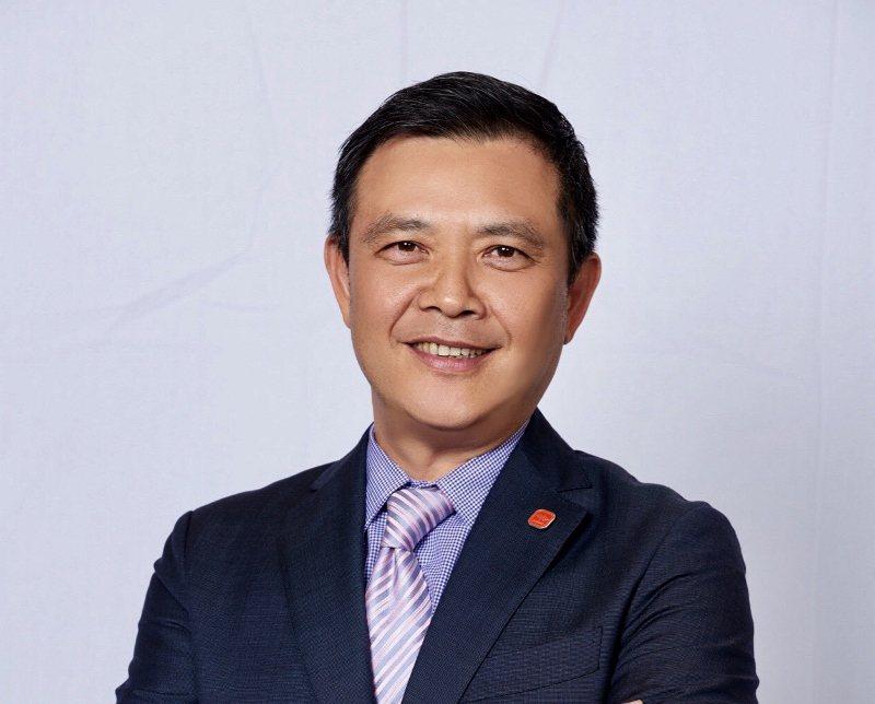 青青婚宴文創集團董事長吳永強接任台灣連鎖加盟促進協會第11屆理事氞。 業者/提供