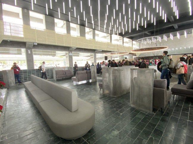 首度公開、全台第一座台鐵禮賓室。記者羅建怡/攝影