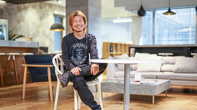 日本科技新創公司Sun*執行長小林泰平。 彭博資訊