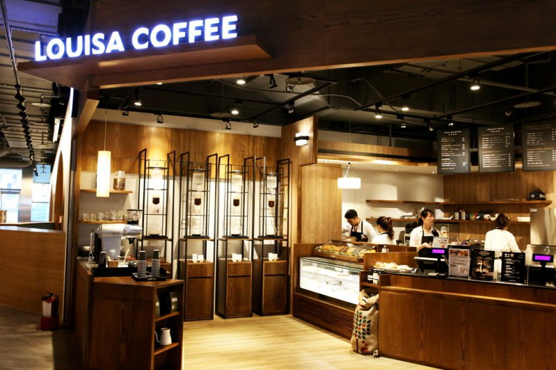 路易莎咖啡。圖/路易莎提供