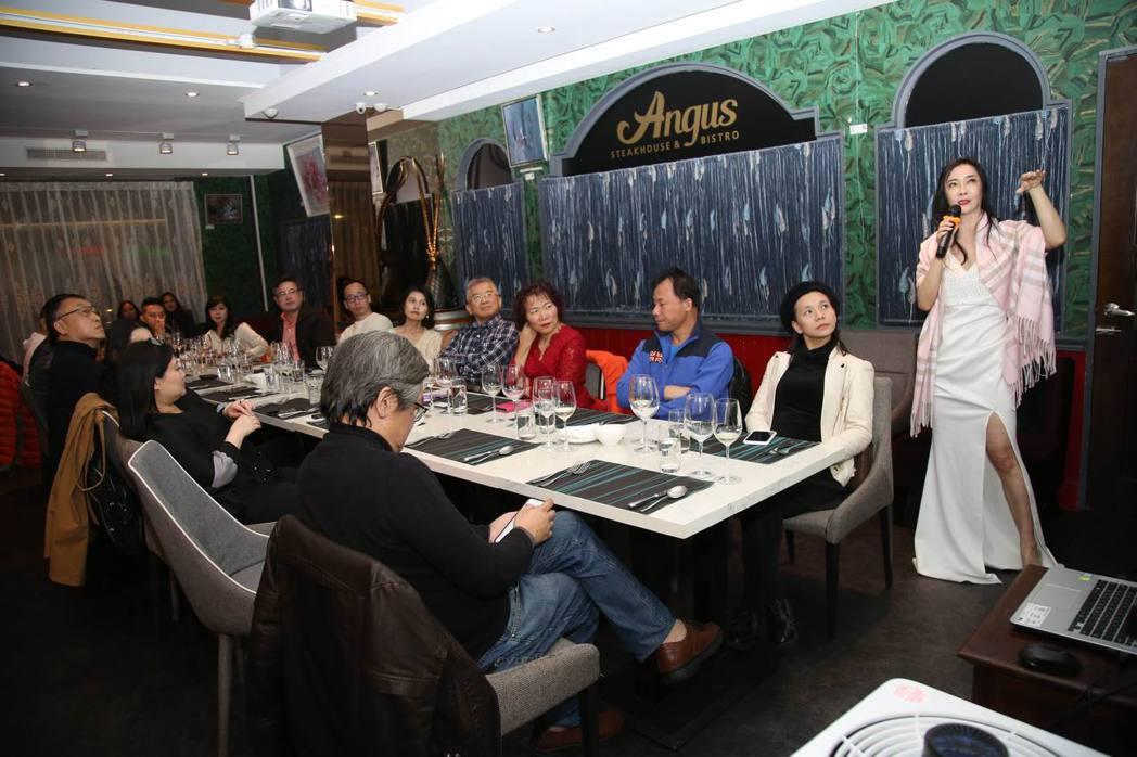 凍齡教主顧婕在餐酒會上分享她的品酒美學,也特別介紹位在歐亞交界處神秘的高加索地區...