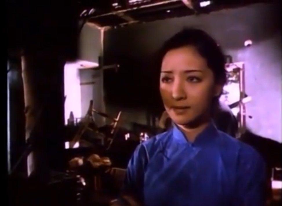 胡因夢在「軍魂」中戲分被剪到剩一段。圖/摘自imdb