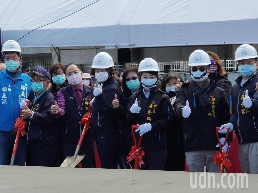 台中市太平區永億段社會「好」宅新建工程」上午舉辦動土典禮。記者黃寅/攝影