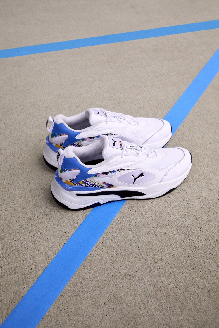 PUMA INTL GAME系列RS-Fast鞋3,980元。圖/PUMA提供