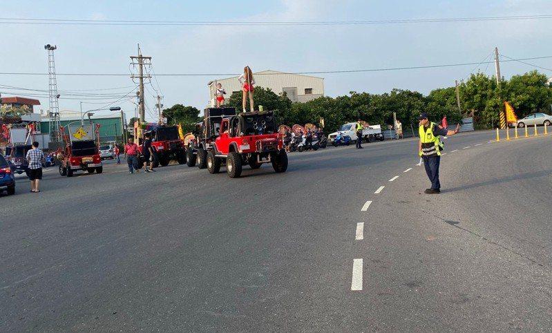台南麻豆警分局轄區元旦3天連假交通提出疏導管制。記者吳淑玲/翻攝