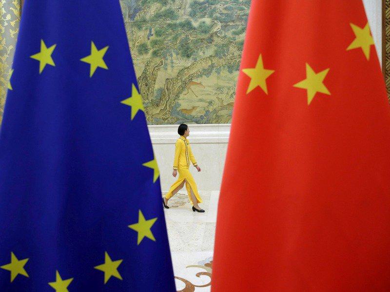 歐盟與中國投資協定談判進入最後關頭。 路透