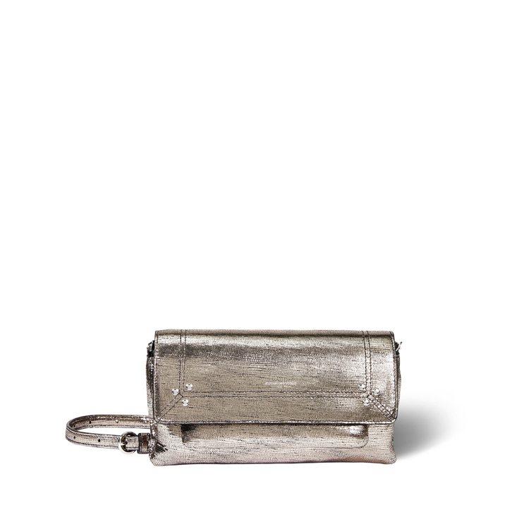 Jérôme Dreyfuss Charly小型星鑽銀山羊皮手袋,26,500元...