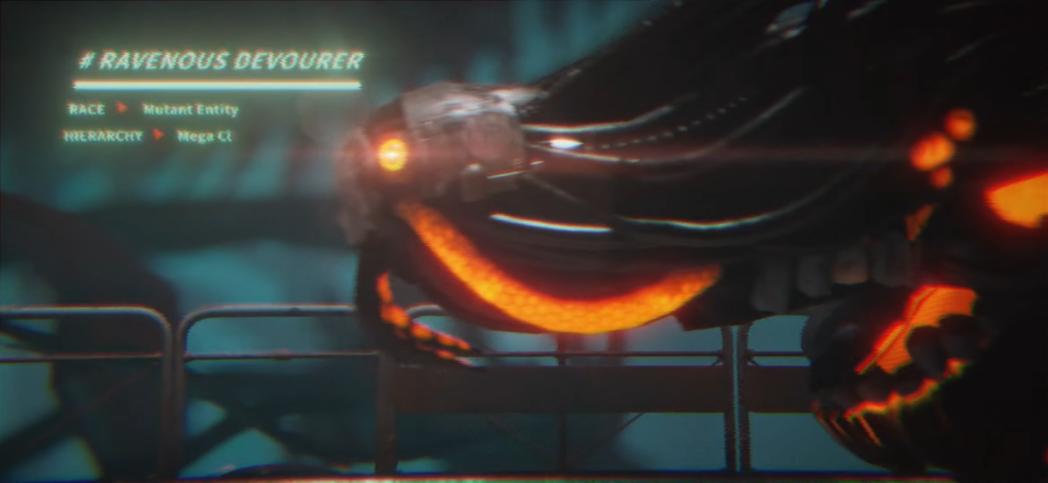 玩家要對付的敵人看起來是充滿機械感的生命體。