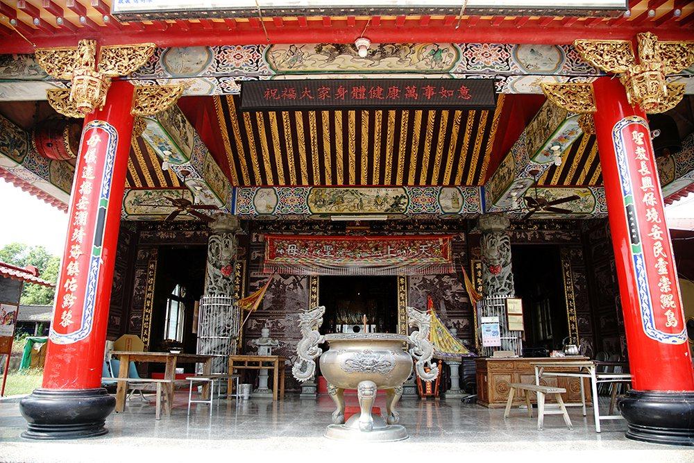 全台唯一的鴨母王祠,是極具歷史意義的觀光勝地。  圖/曾信耀 攝影