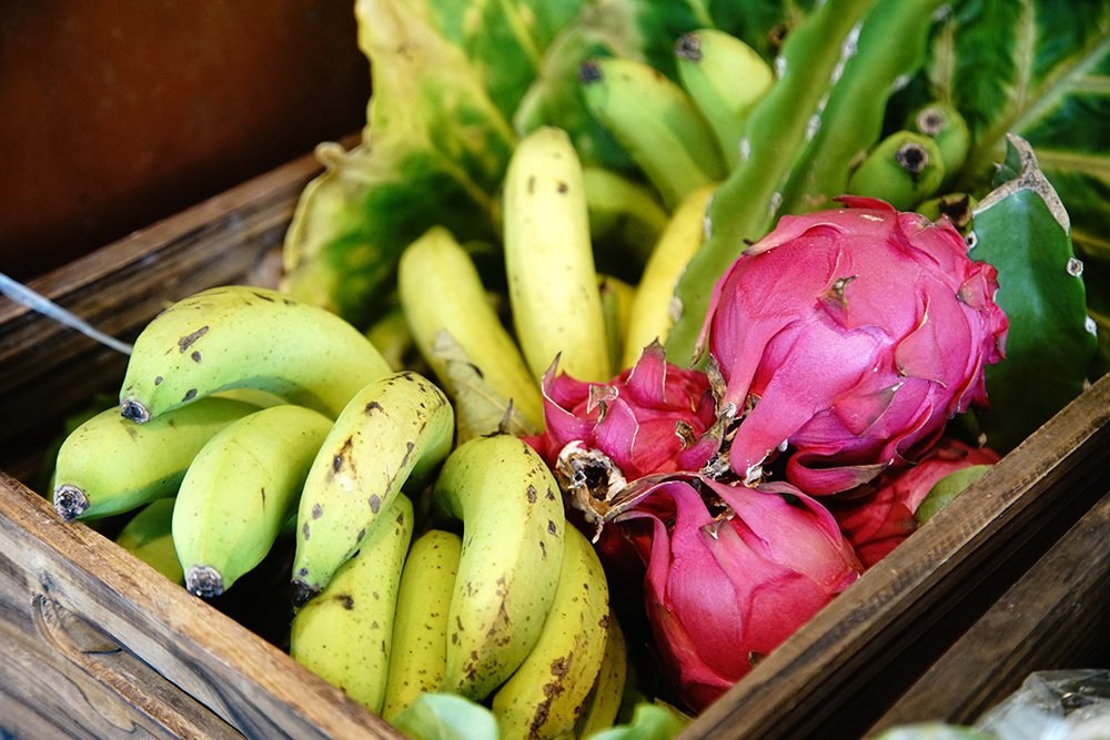 羅玉厚採自然農法,各種水果的風味特別出色。  圖/曾信耀 攝影
