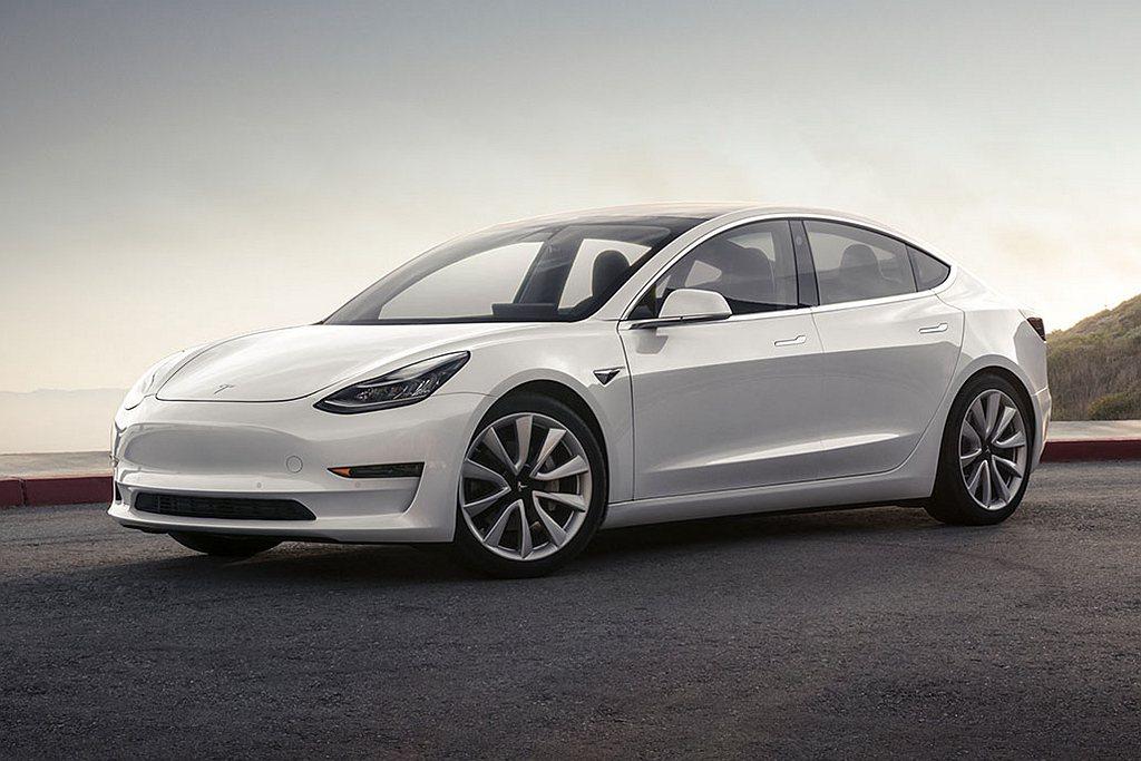 Tesla Model 3。 圖/Tesla提供