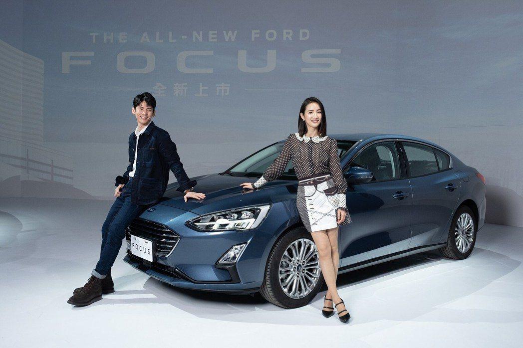 延續代言Focus的好成績,福特六和再次找來零負評女神林依晨擔任新車代言人。 圖...
