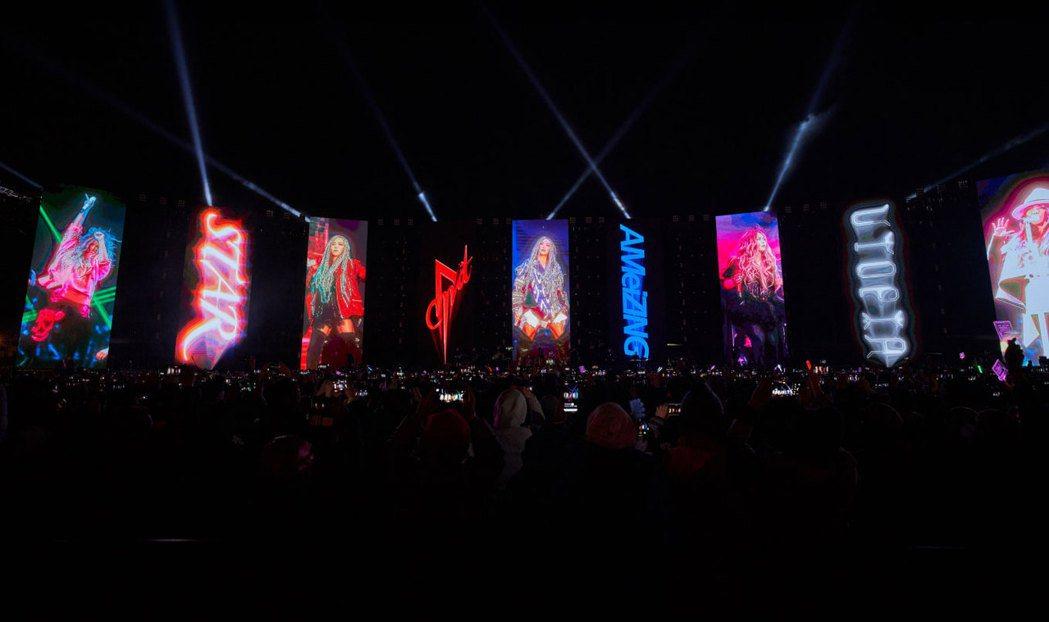 張惠妹首度在家鄉台東舉辦跨年演唱會,總成本超過3800萬。圖/聲動娛樂提供