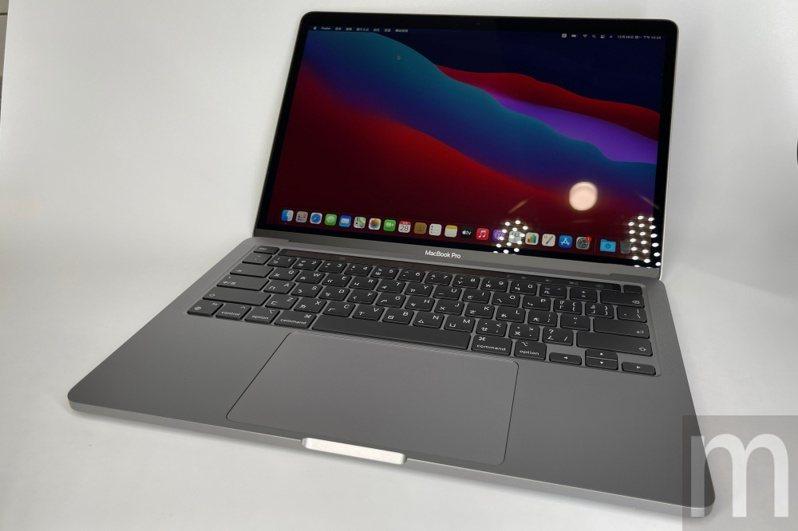 ▲換上M1處理器的新款13.3吋MacBook Pro