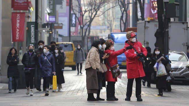 南韓人口老化危機深重。歐新社