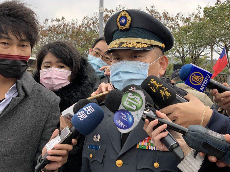 國防部發言人史順文今(31)日上午表示,美驅逐艦2艘今日上午由南海航經台灣海峽後,續向北航行。記者洪哲政/攝影