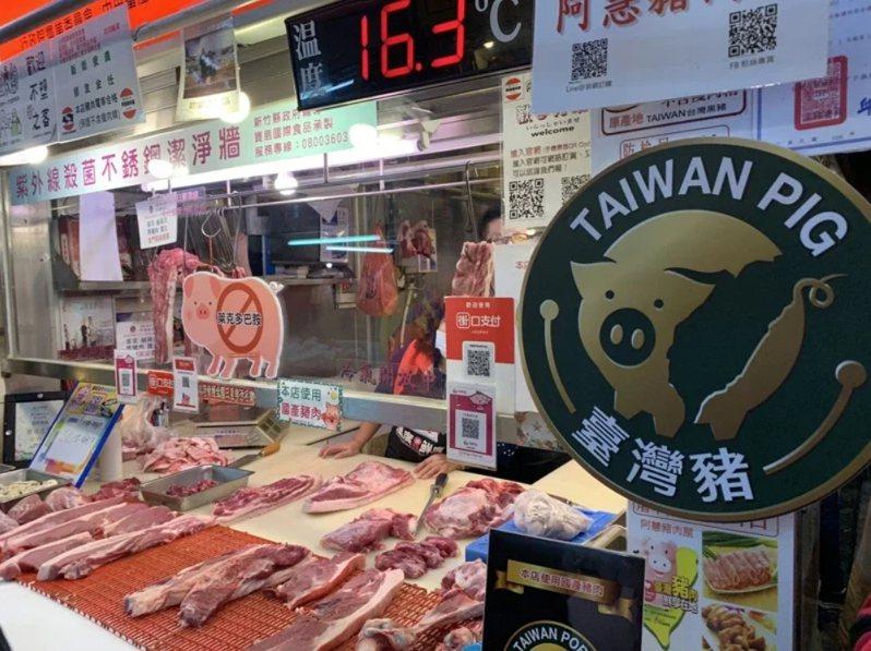 針對萊豬進口,竹縣府提出「零檢出、要標示、設專區」等3項因應措施。圖/聯合報系資料照