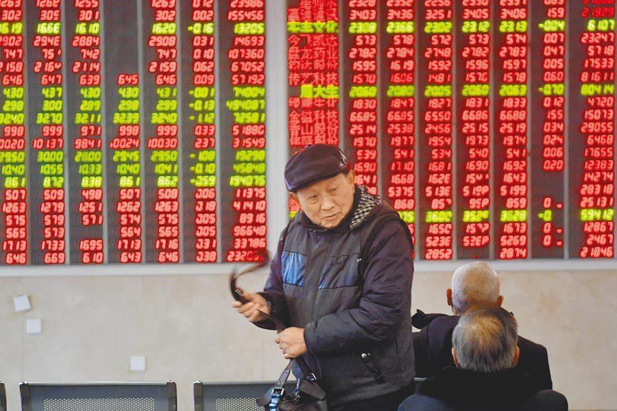 A股。中新社資料照片