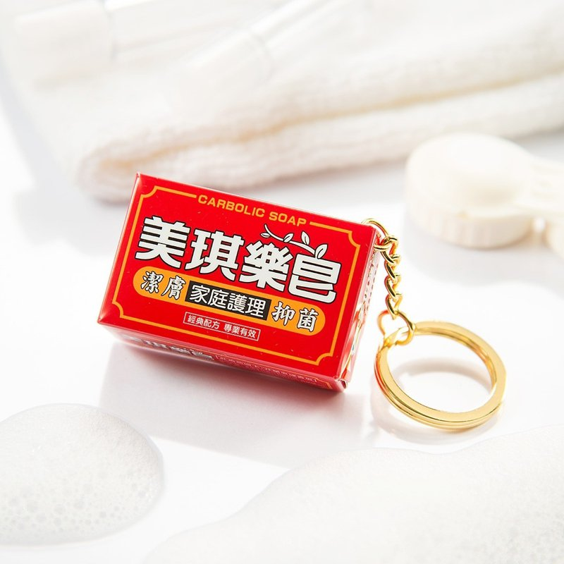 悠遊卡公司推出陪伴台灣人超過60年的「美琪樂皂」3D造型悠遊卡。圖/悠遊卡公司提供