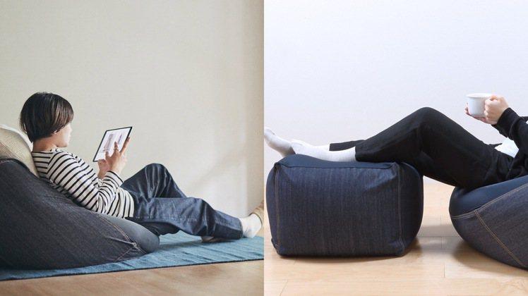第3名,懶骨頭沙發,2,980-5,800元。圖/無印良品提供